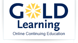 Gold Learning Online Continuing Education Logo